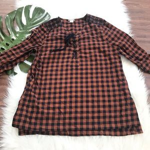 Forever21 Plaid Shirt
